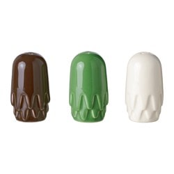 TILLFÄLLE salt and pepper shaker, assorted colours