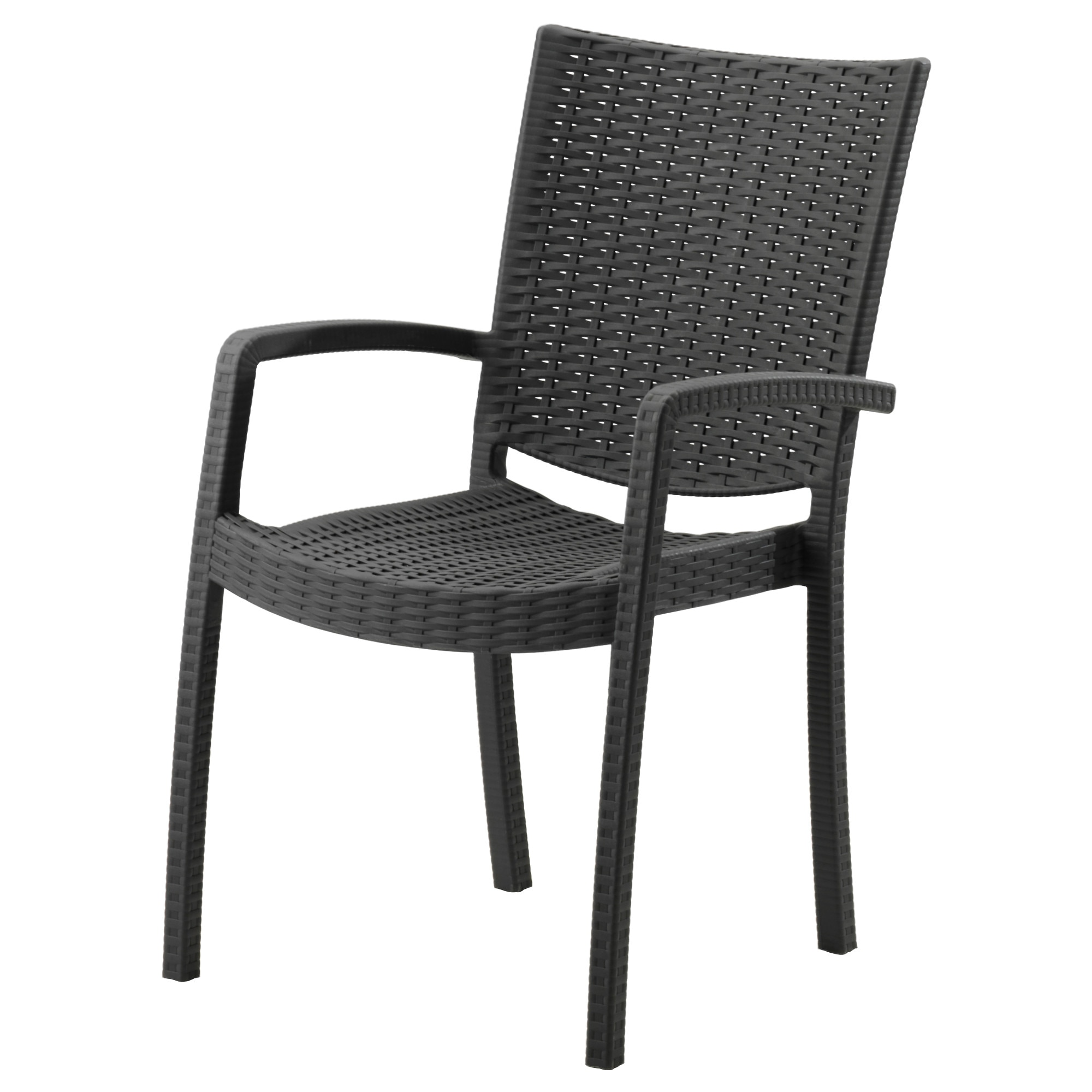 With Chair Grey ArmrestsOutdoor Innamo Dark tsdxhrQC
