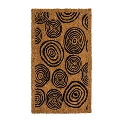 BOVRUP door mat, black
