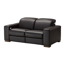 zweisitzer sofas aus leder kunstleder ikea. Black Bedroom Furniture Sets. Home Design Ideas