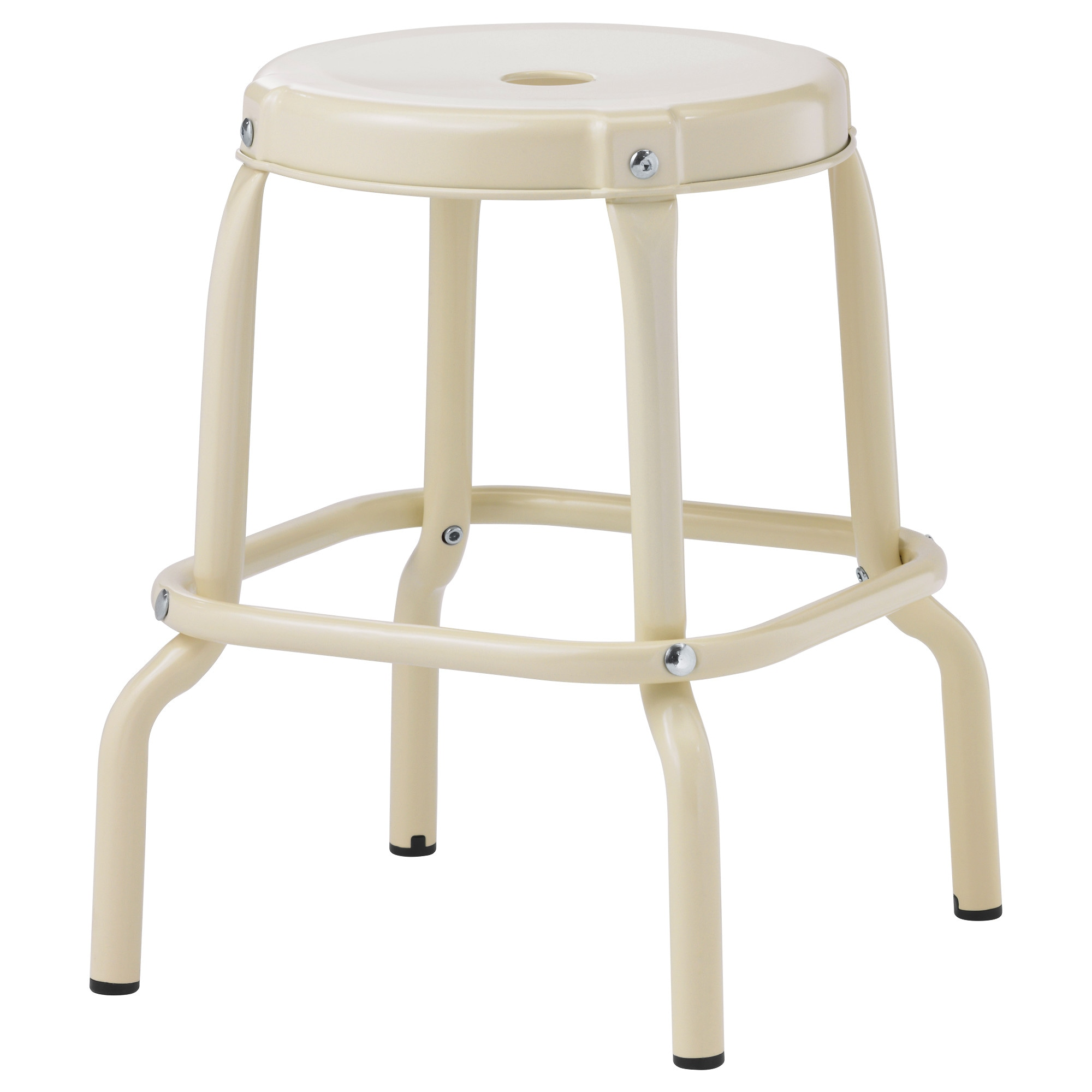 RÅSKOG Stool, Beige Tested For: 220 Lb Seat Diameter: 11 3/4