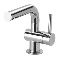 SVENSKÄR wash-basin mixer tap with strainer, chrome-plated Height: 15 cm