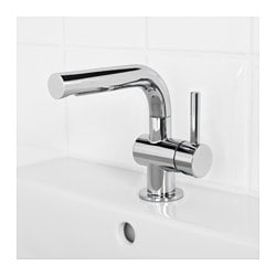SVENSKÄR Wash Basin Mixer Tap With Strainer, Chrome Plated