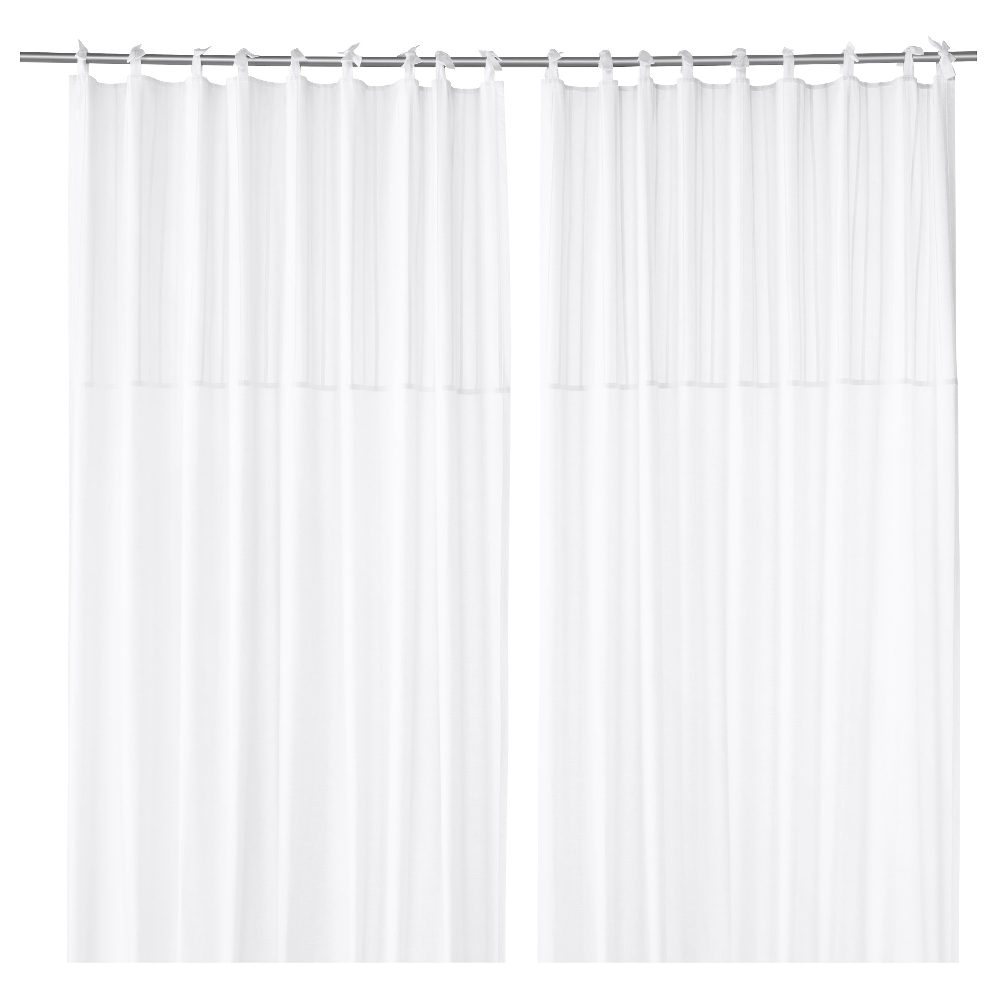 Cafe curtains for bathroom - P Rlblad Curtains 1 Pair White Length 98 Width 57 Weight