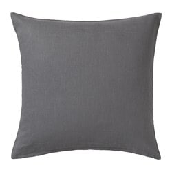 VIGDIS, Cushion cover, dark gray