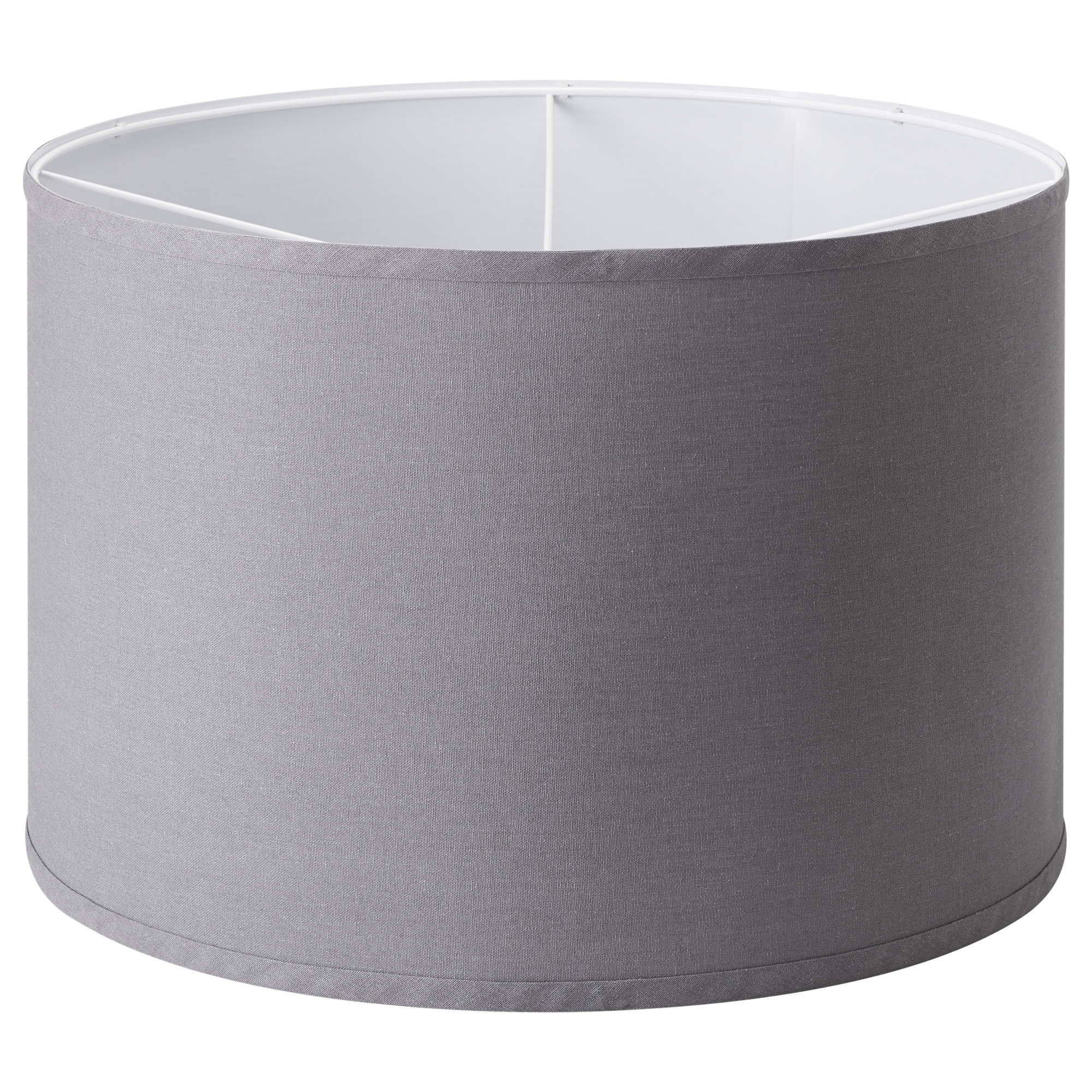 Lamp Shades - IKEA:RULLAN shade, gray Height: 9