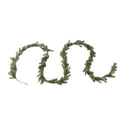 SMYCKA artificial garland, spruce Length: 3 ¾ yard Length: 3.5 m
