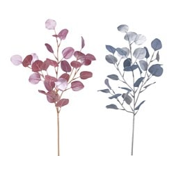 SMYCKA artificial spray, eucalyptus assorted colours Height: 60 cm