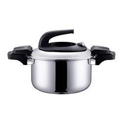 JULFEST pot with lid, stainless steel Volume: 4.5 l