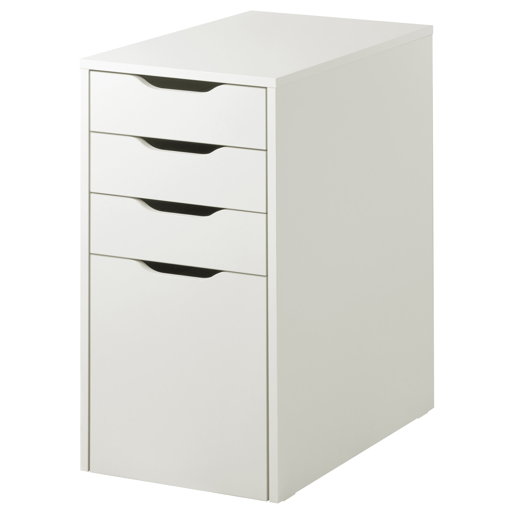 Drawer Unit Drop File Storage Alex White