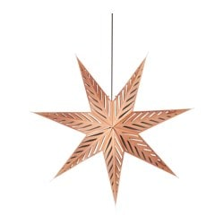 STRÅLA pendant lamp, star bronze-colour Diameter: 70 cm Cord length: 3.0 m