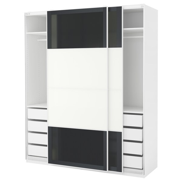 pax kleiderschrank wei uggdal f rvik ikea. Black Bedroom Furniture Sets. Home Design Ideas