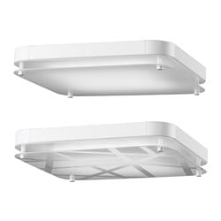 LEVANG LED ceiling lamp, assorted patterns, square Length: 36 cm Width: 36 cm Height: 7 cm