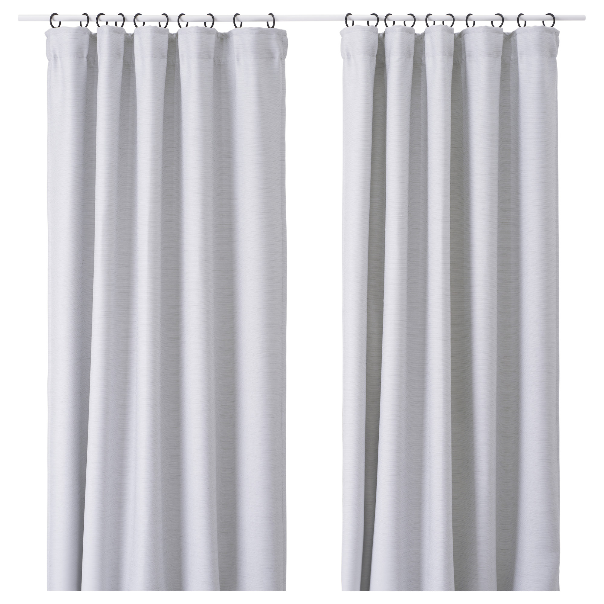 curtains koikaa image thermal products product curtain darshi light gray grey