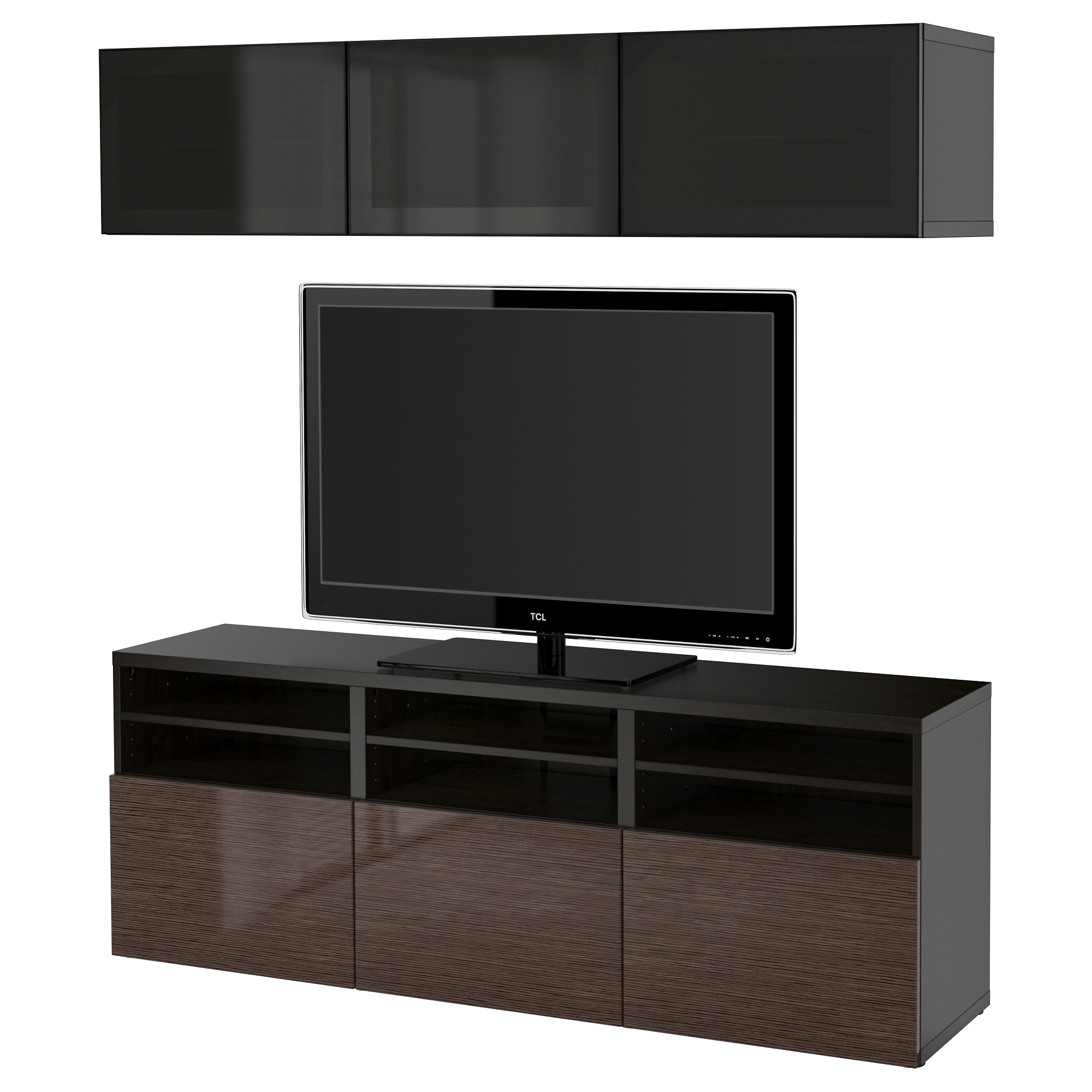 Image gallery ikea media cabinet for Tv media storage cabinet