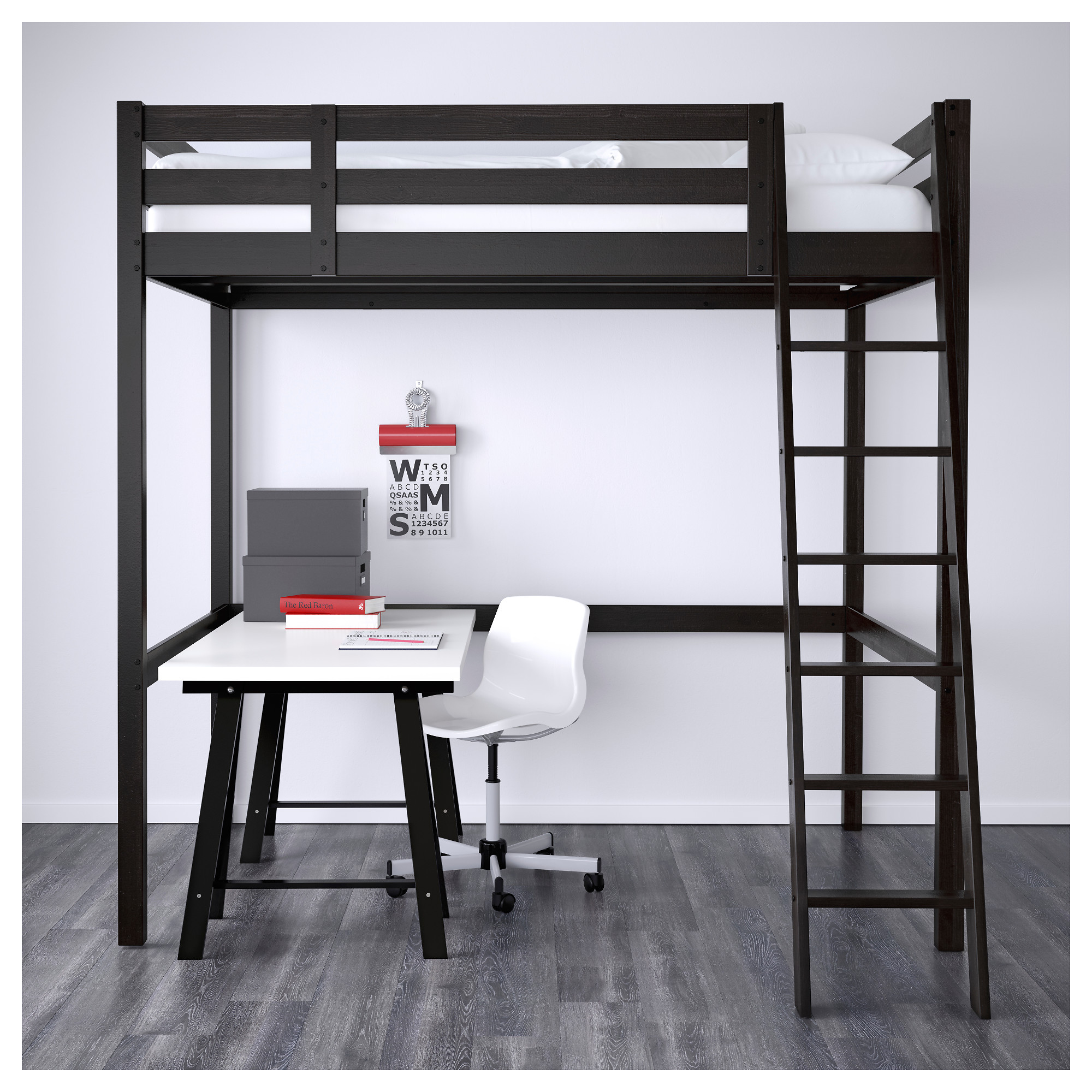 Bunk bed with desk ikea - Bunk Bed With Desk Ikea 20