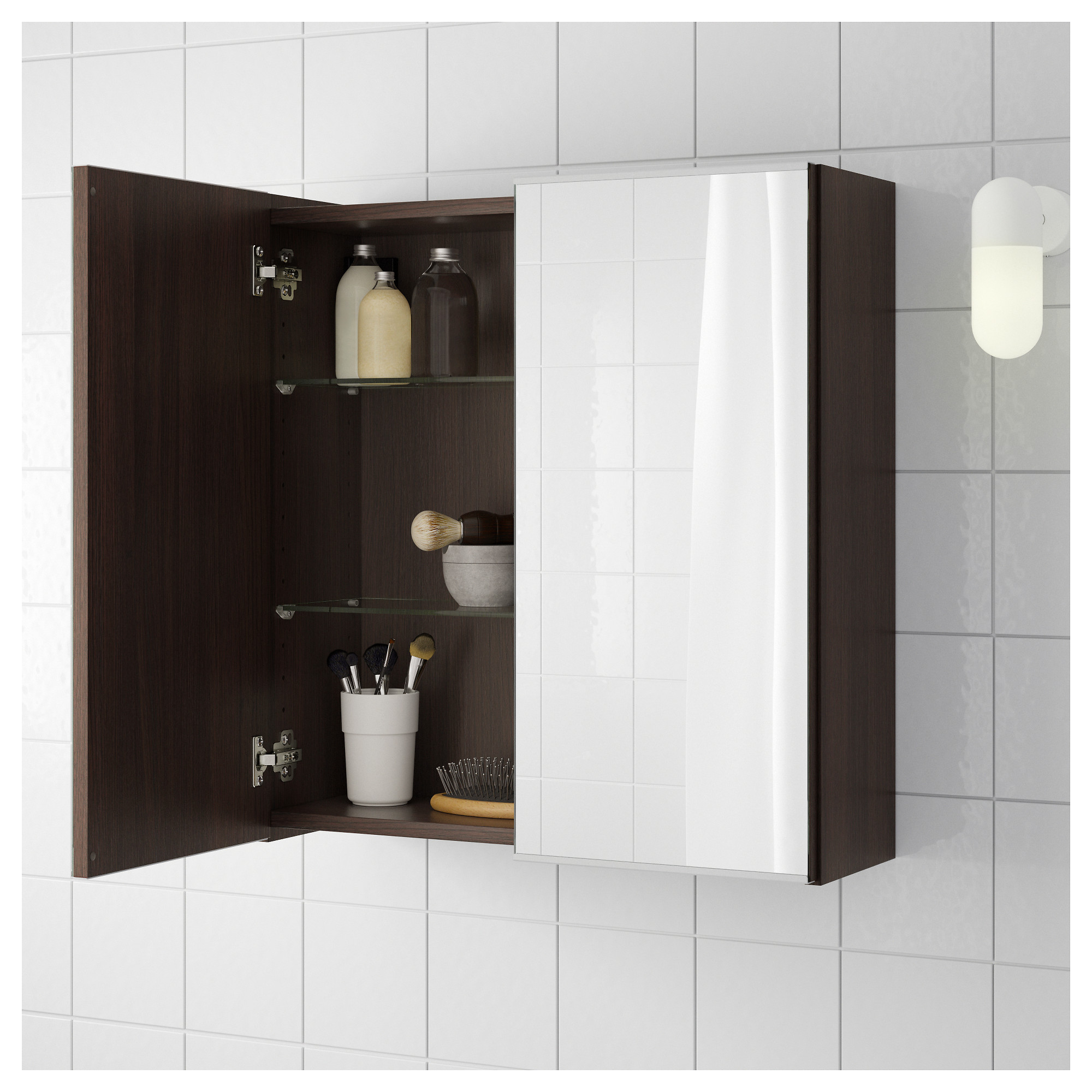 LILLNGEN Mirror Cabinet With 2 Doors