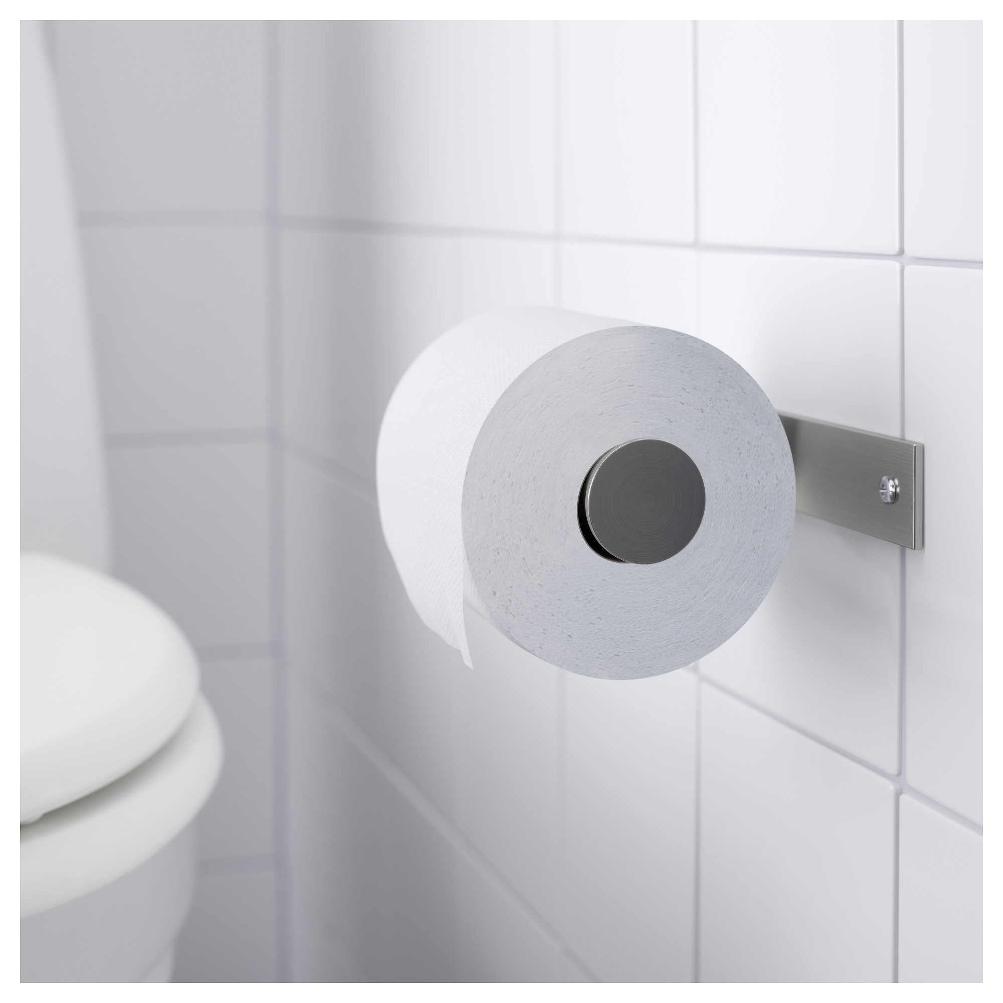 GRUNDTAL Toilet roll holder - IKEA