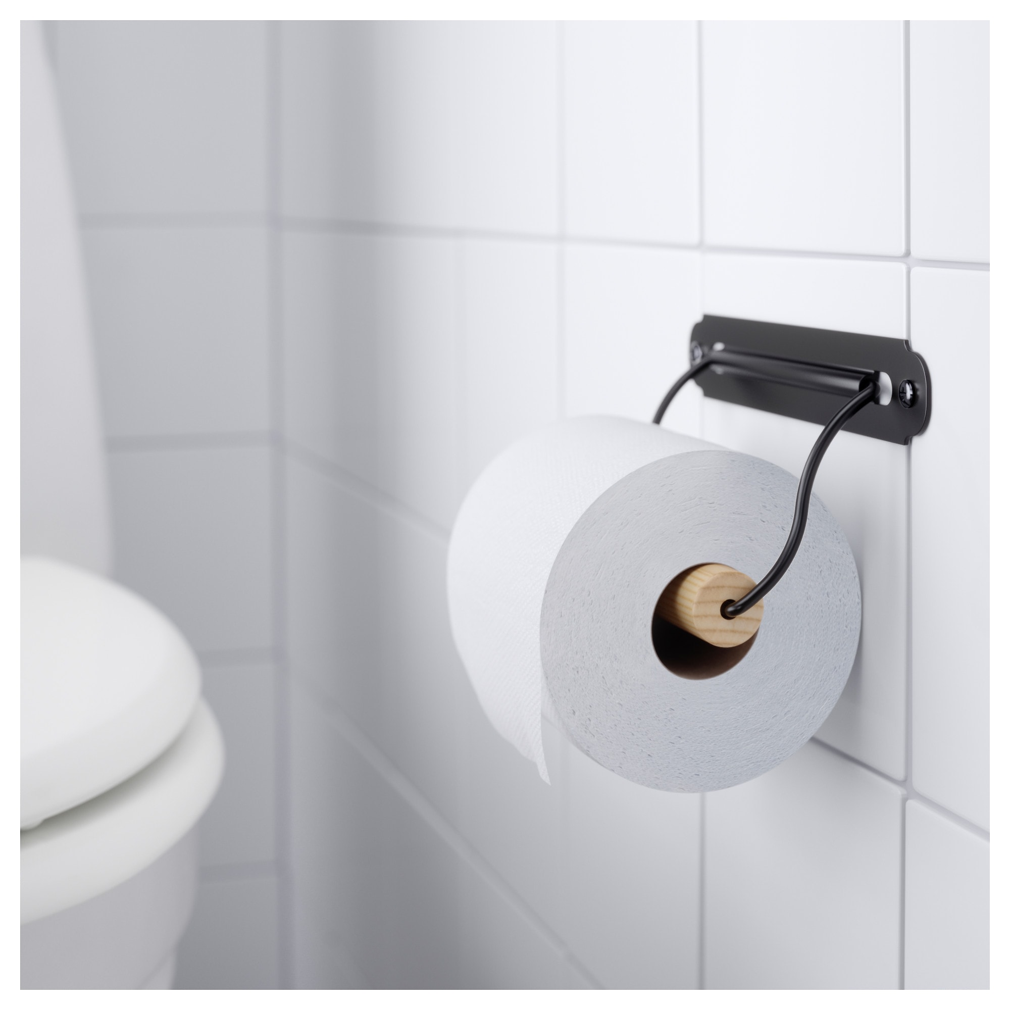 Svartsjon Toilet Roll Holder Ikea