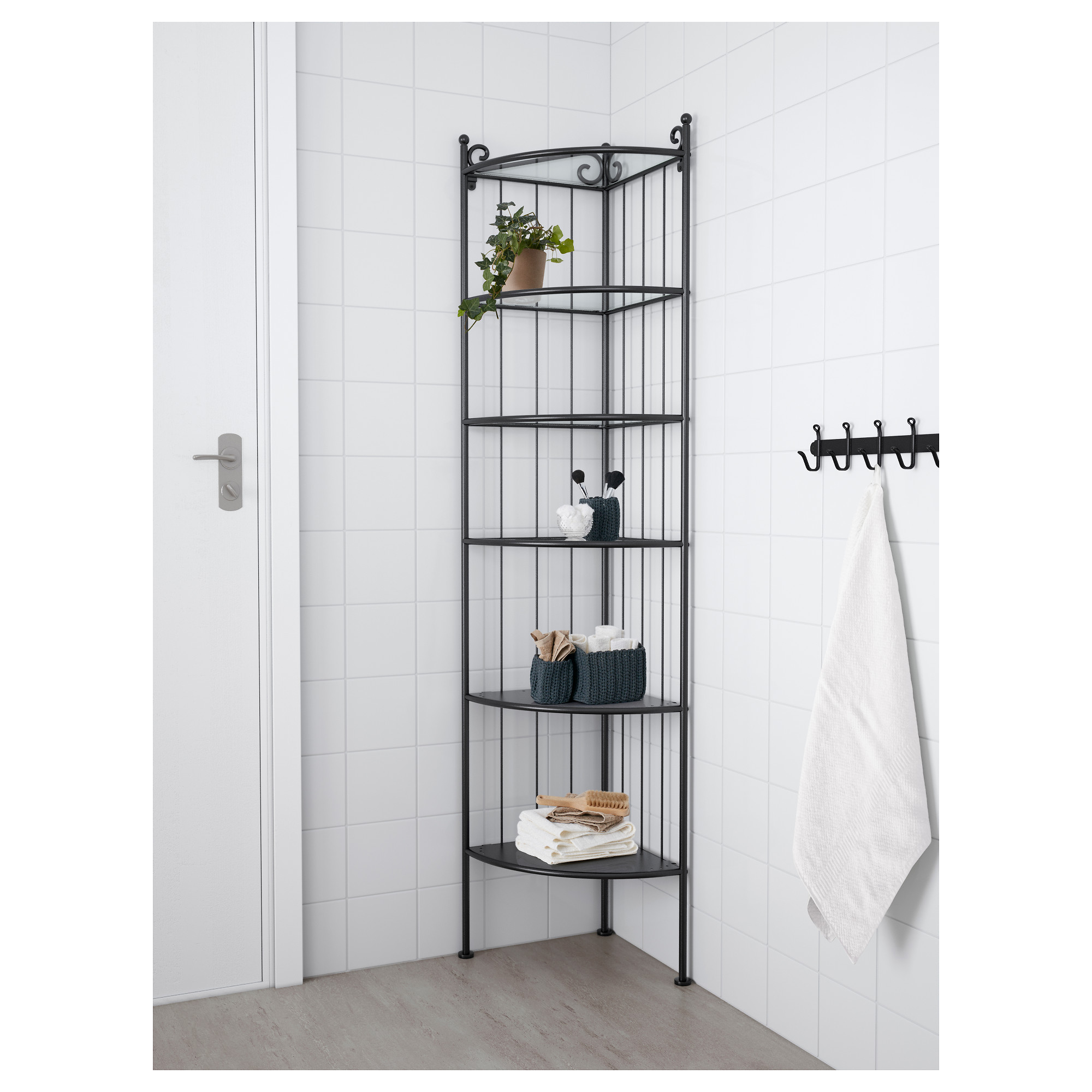 rÖnnskÄr corner shelf unit  ikea -