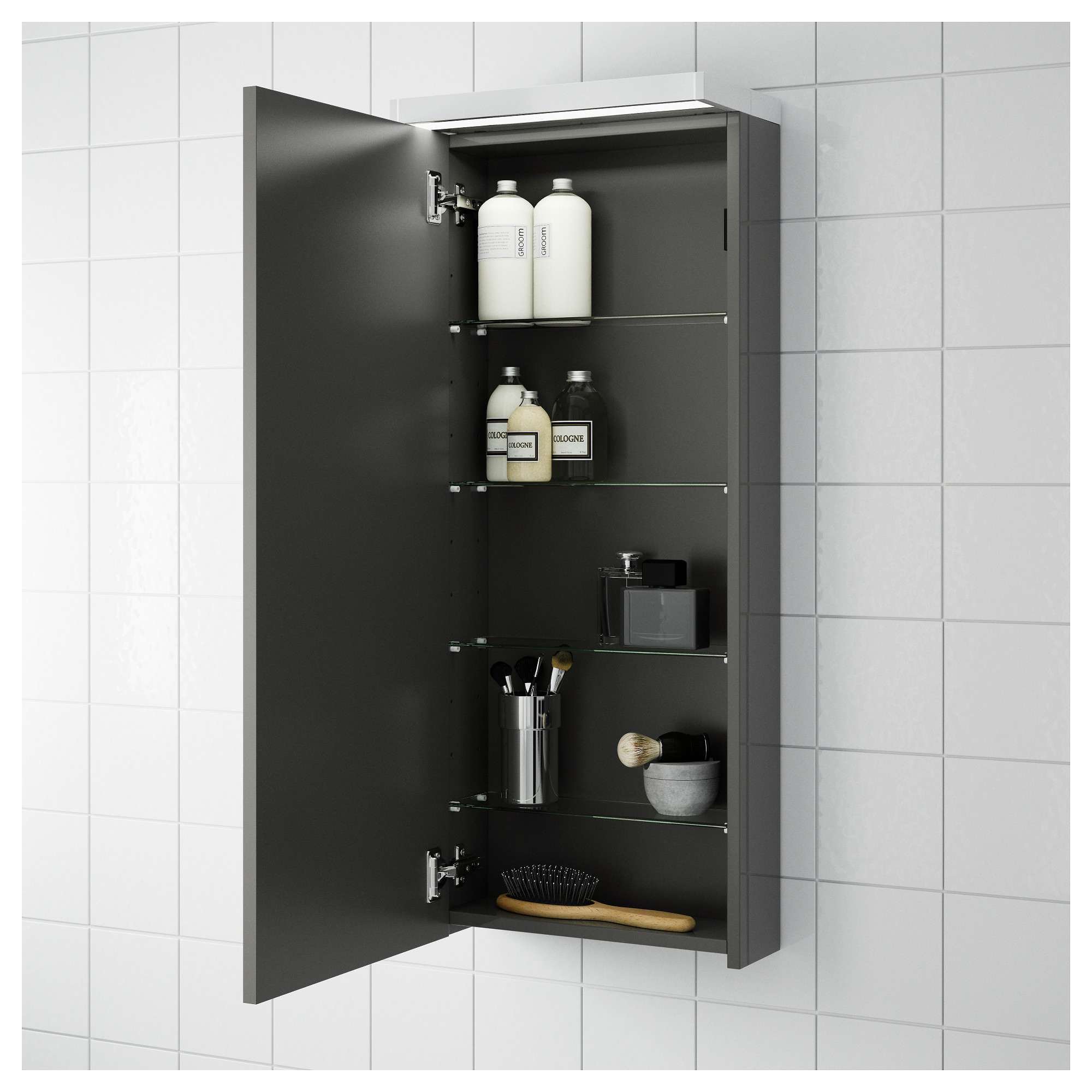 godmorgon wall cabinet with 1 door black brown ikea