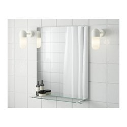 Bathroom Mirrors FULLEN Mirror With Shelf IKEA