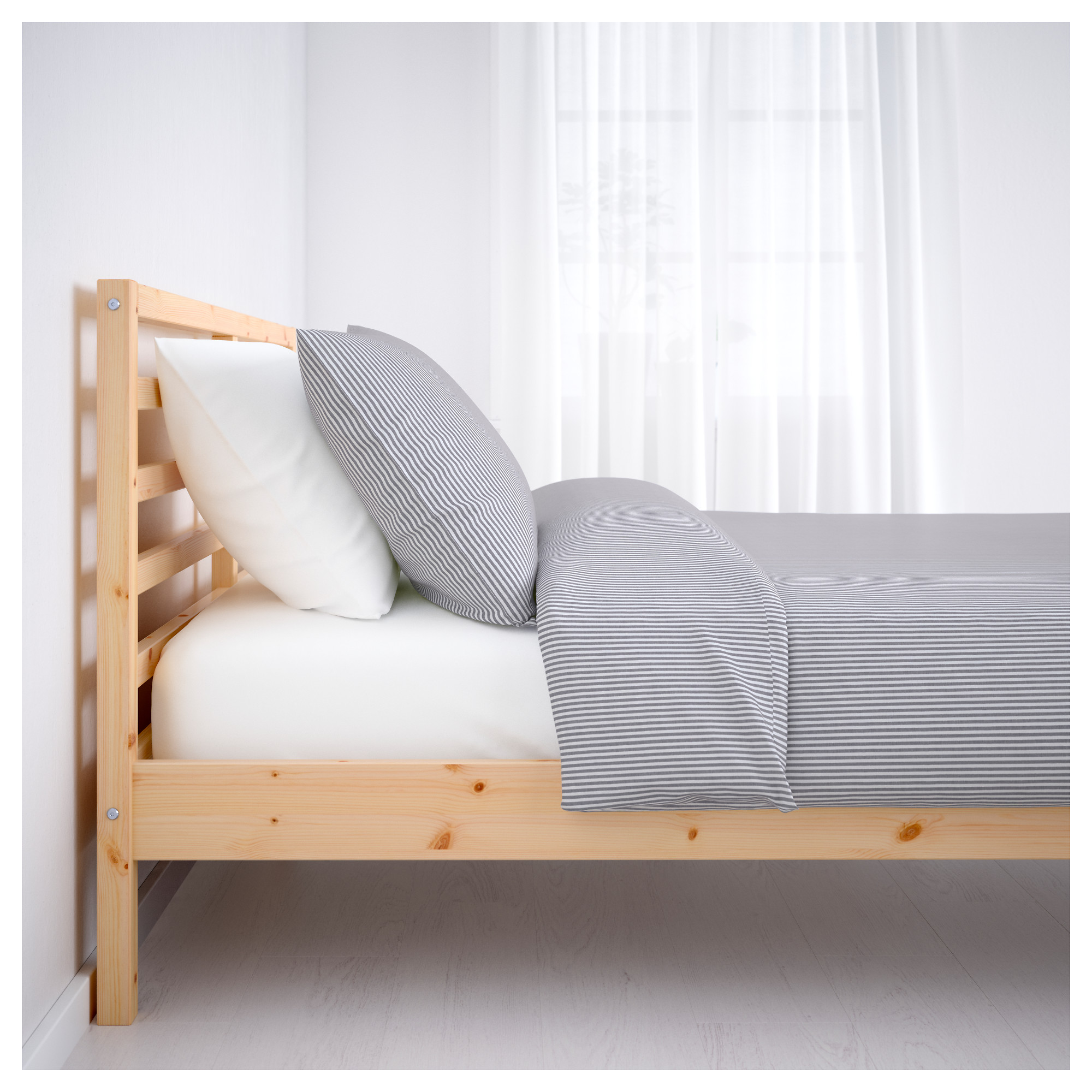 TARVA Bed frame Queen IKEA