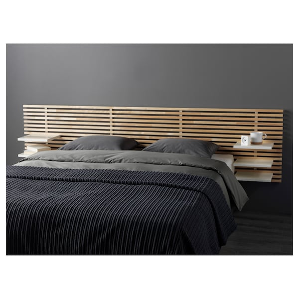 mandal t te de lit bouleau blanc ikea. Black Bedroom Furniture Sets. Home Design Ideas