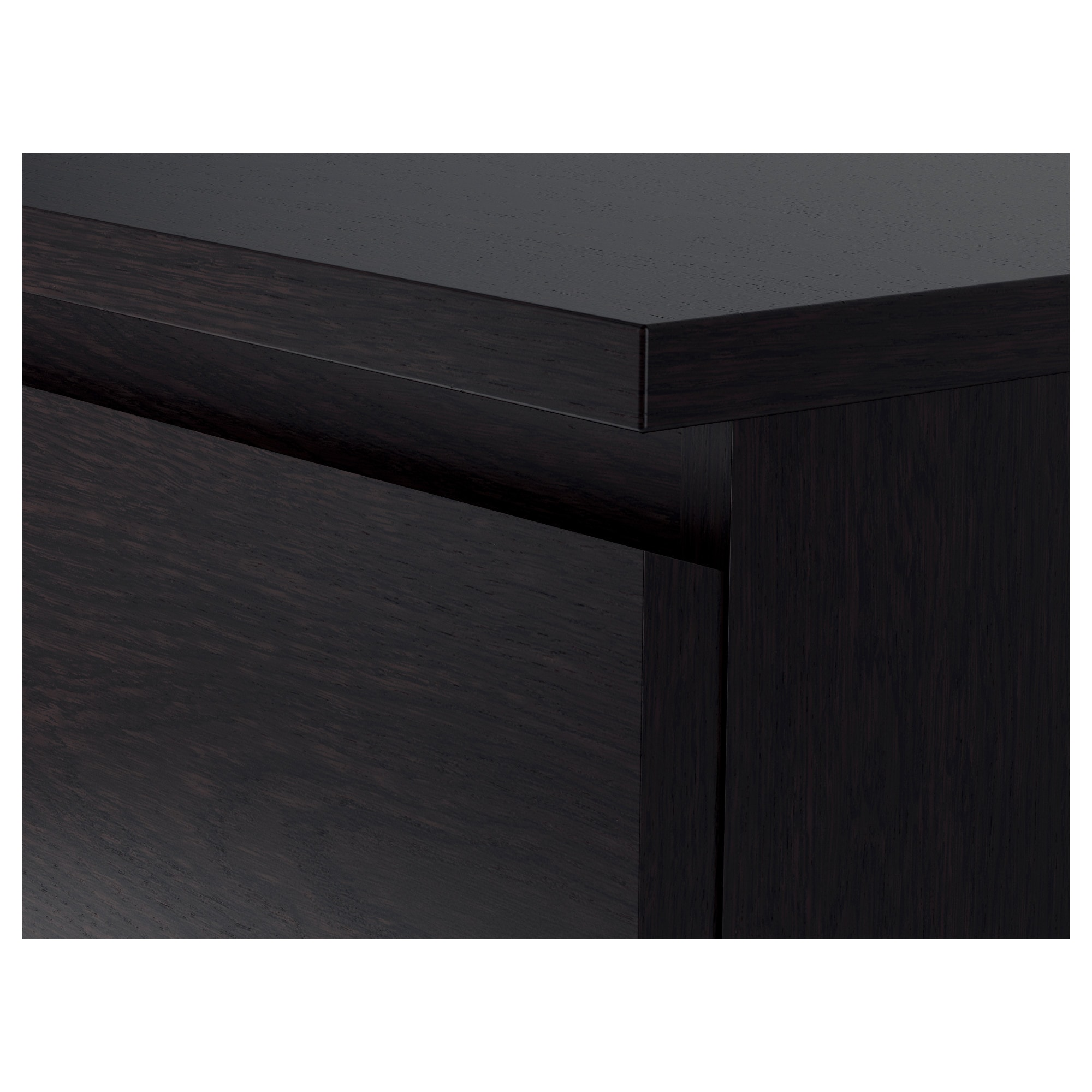 prodigious Ikea Malm Black Brown Part - 2: MALM 6-drawer chest - black-brown - IKEA