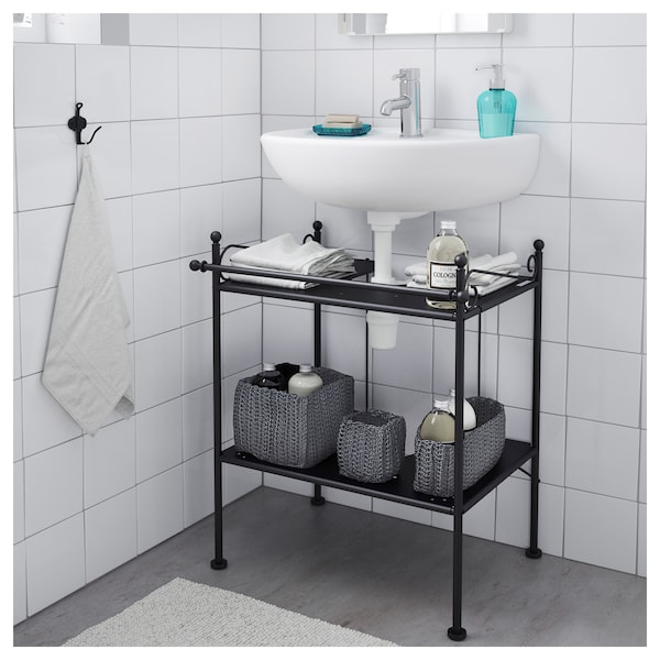 R nnsk r sottolavabo nero ikea for Planner bagno ikea