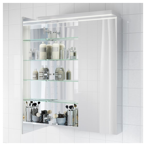 ikea bathroom cabinets with wall mirror | GODMORGON Mirror cabinet with 2 doors - IKEA