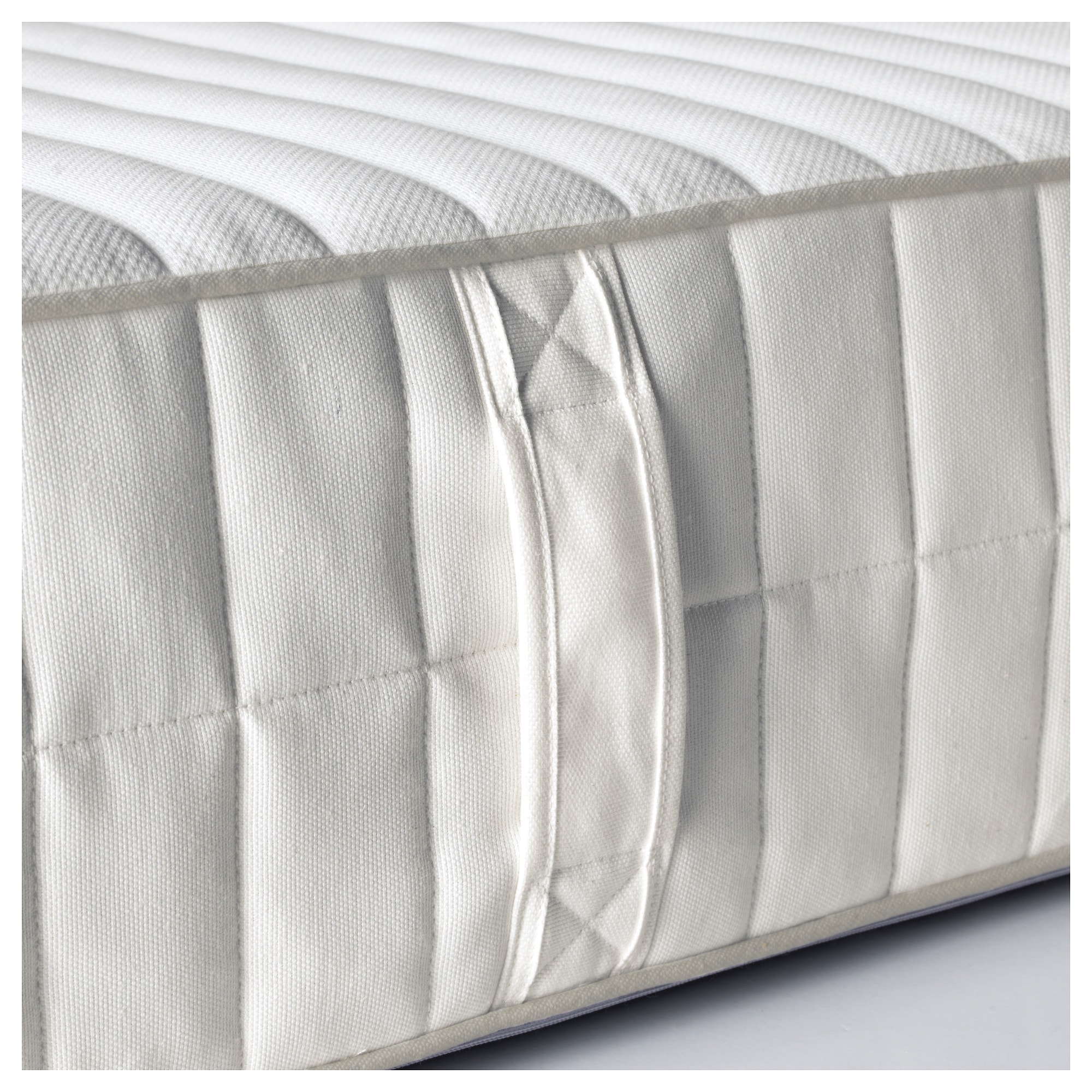 MYRBACKA Latex mattress - Full, medium firm/white - IKEA