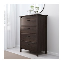Home Bedroom Chests Of Drawers Brusali 4 Drawer Dresser Ikea
