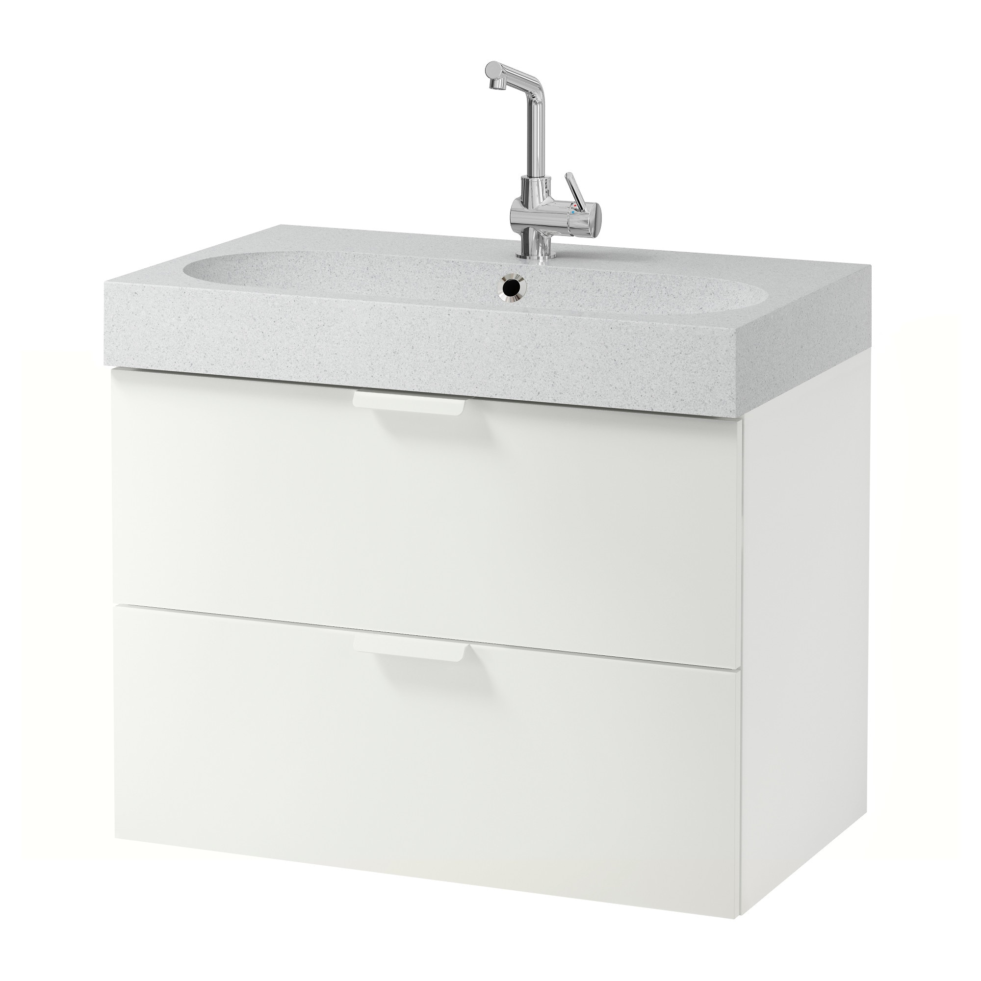 Idees de carreaux mur la cuisine moderne for Meubles lavabo ikea