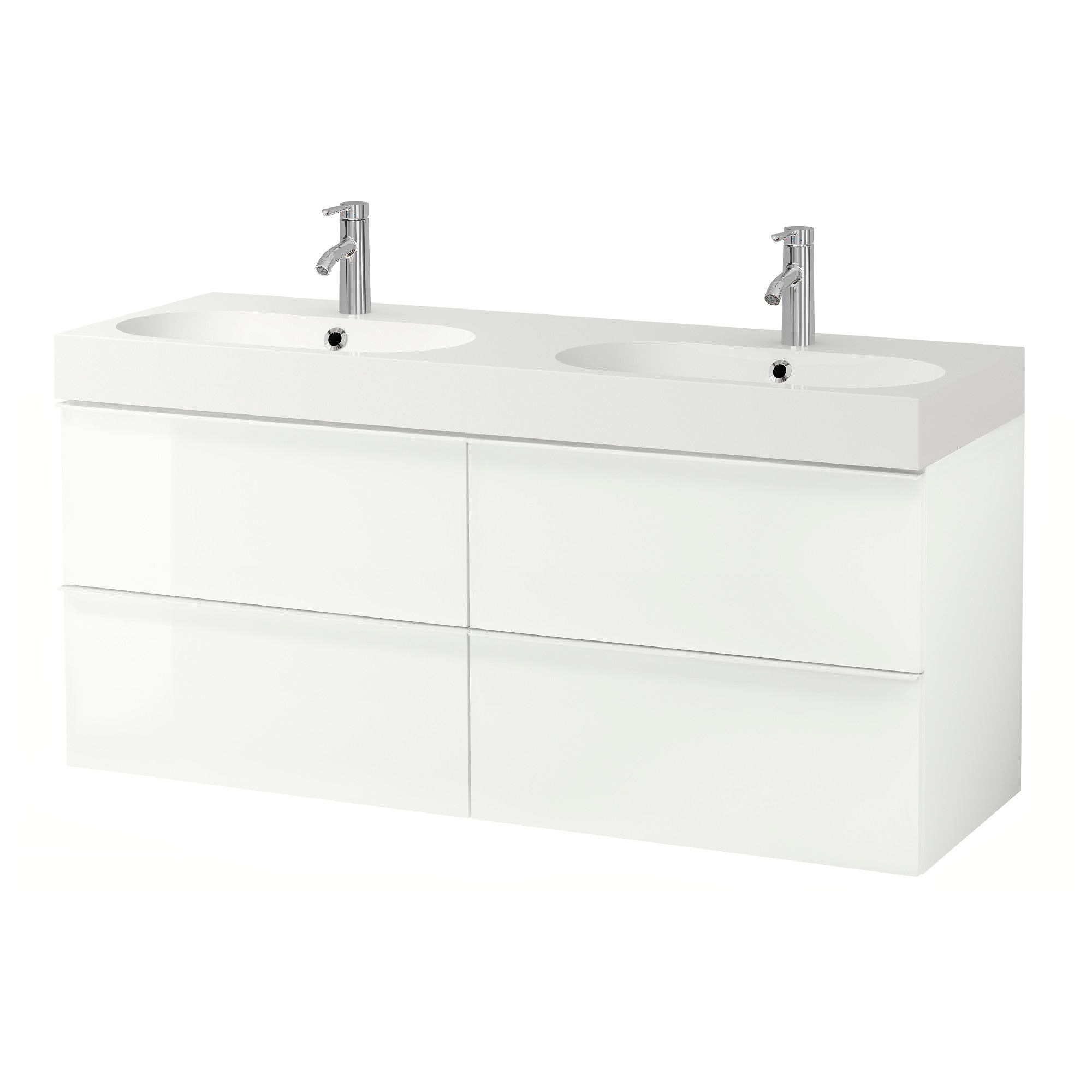 GODMORGON BR…VIKEN Sink cabinet with 4 drawers high gloss