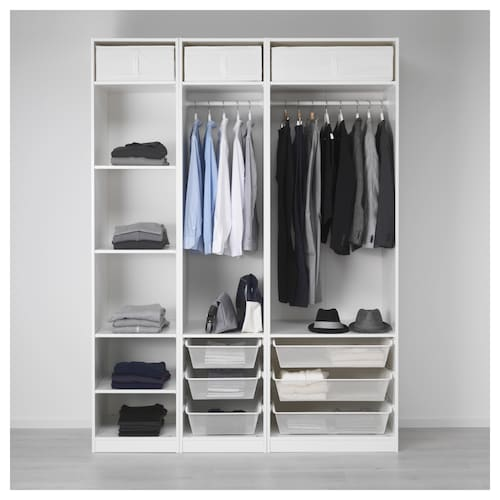 Pax Wardrobes Without Doors Ikea