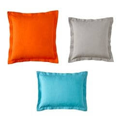 IKEA PS 2014 cushion, set of 3, assorted colors Filling weight 3: 2 lb Filling weight 1: 2 lb Filling weight 2: 2 lb Filling weight 3: 750 g Filling weight 1: 1050 g Filling weight 2: 800 g