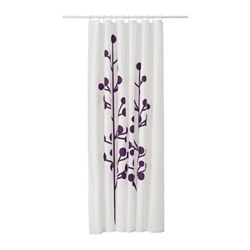 purple and grey shower curtain. DRAMSELVA shower curtain  dark lilac flower Length 71 Width Shower Curtains Rods IKEA