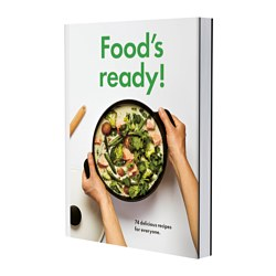 "KOKVRÅ - FOOD'S READY! book Pages: 192 pieces Width: 7 ½ "" Height: 9 ¾ "" Pages: 192 pieces Width: 19.2 cm Height: 25 cm"