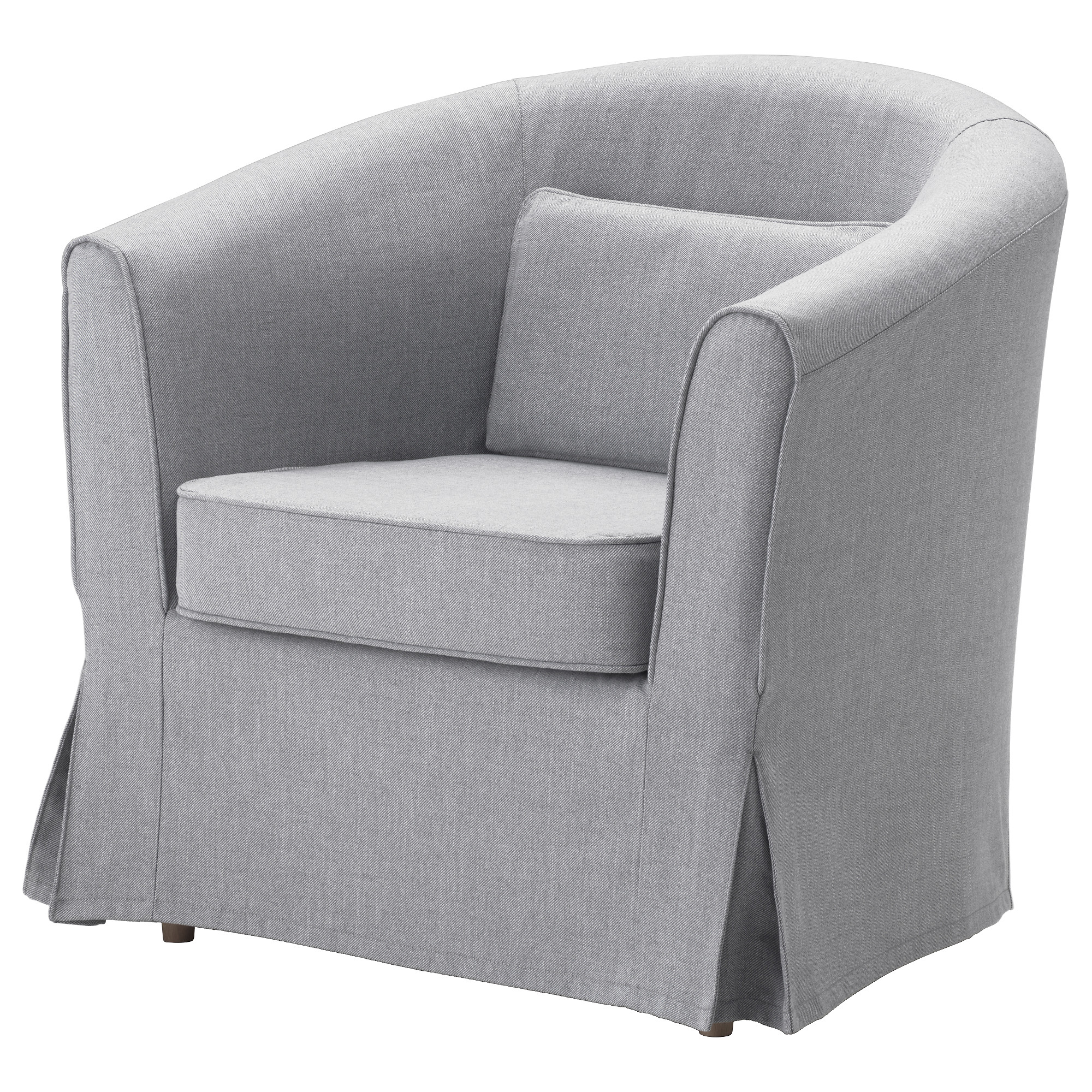 TULLSTA Chair Cover   Nordvalla Medium Gray   IKEA