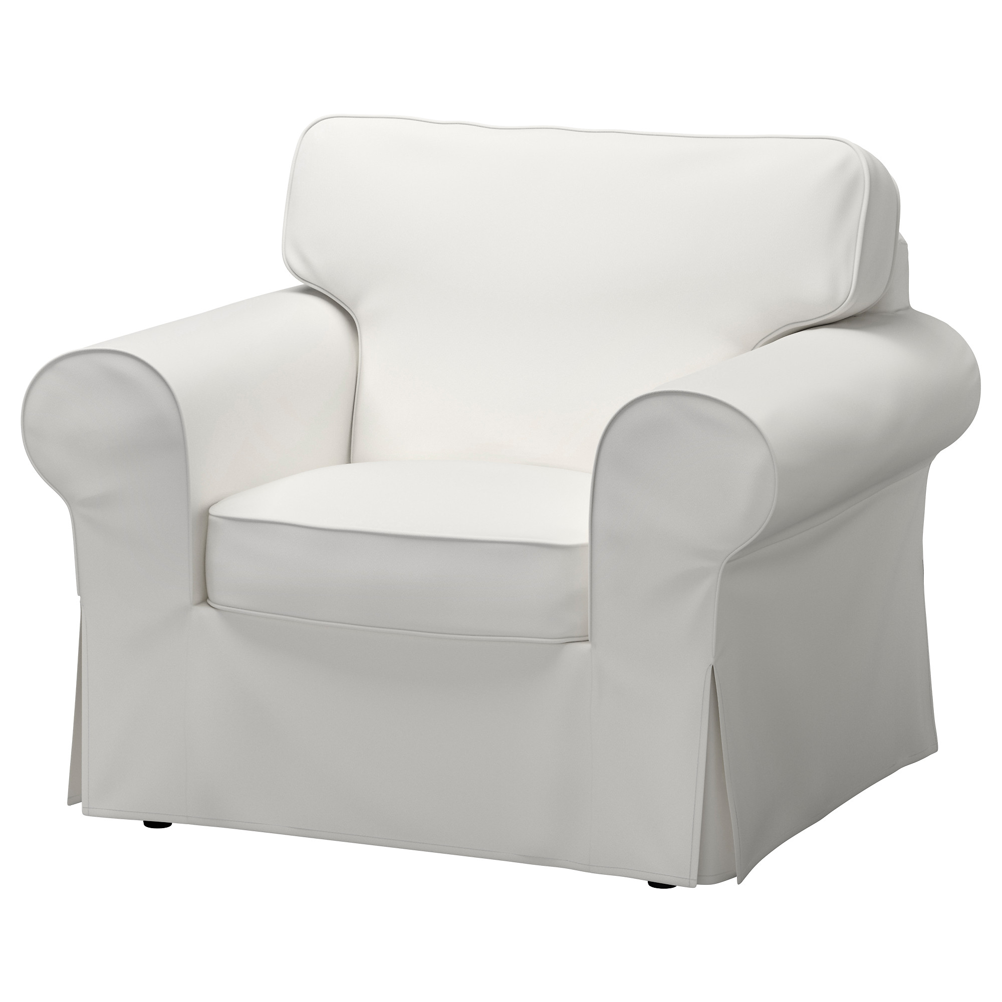 EKTORP Chair cover Lofallet beige IKEA