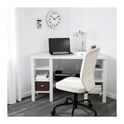 ip hollow white corner desk right monarch left core facing or
