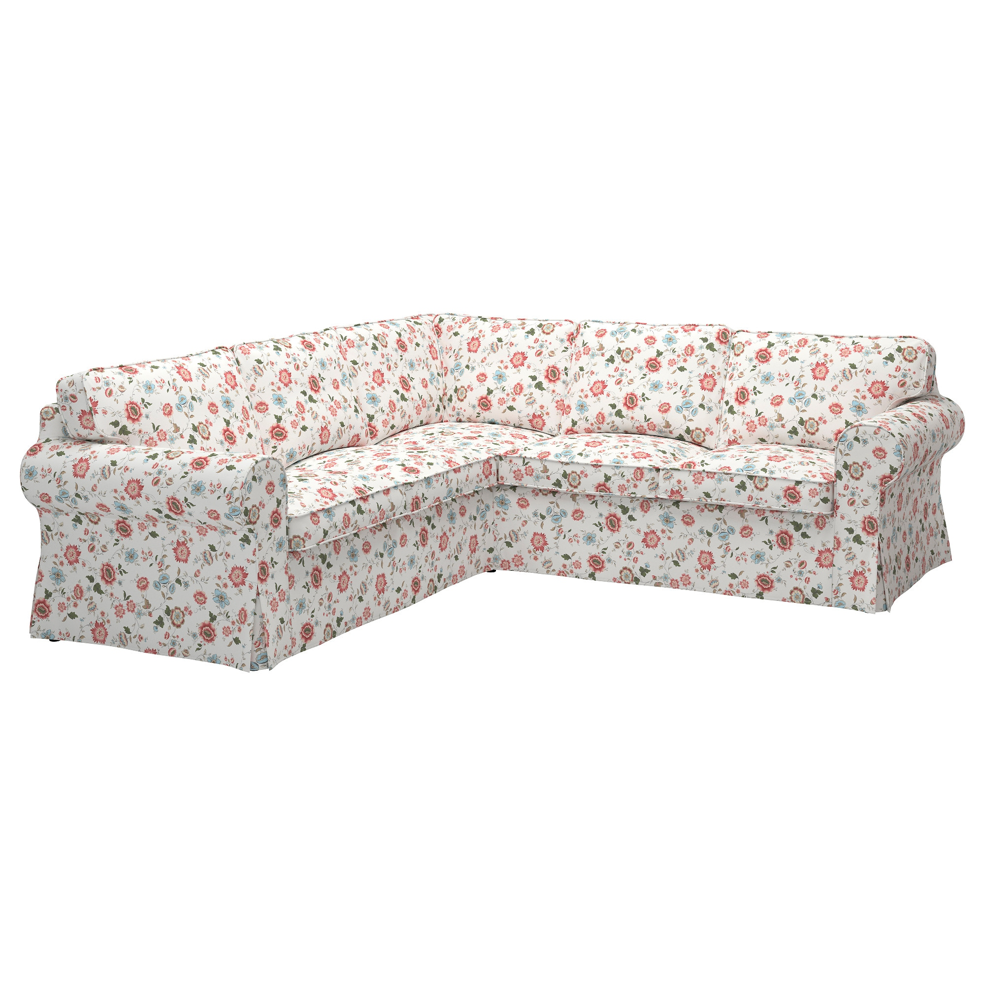 EKTORP Cover for 4 seat corner sectional Vittaryd white IKEA