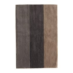 "BARVALLA bathroom mat, multicolor Length: 35 "" Width: 24 "" Surface density: 6 oz/sq ft Length: 90 cm Width: 60 cm Surface density: 1700 g/m²"