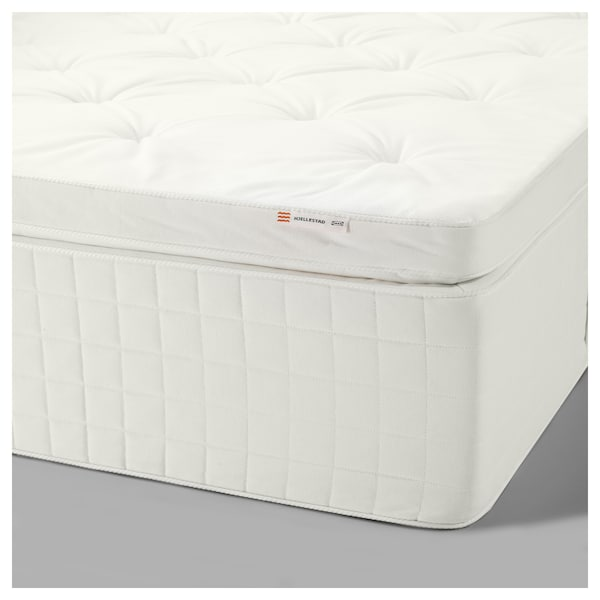 size 40 29e68 7202a Pillowtop mattress HJELLESTAD medium firm, white