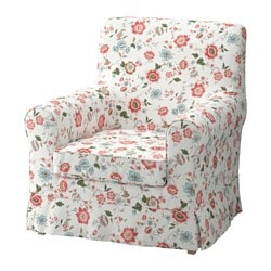JENNYLUND armchair cover, Videslund multicolor