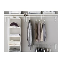 MULIG Clothes Bar, White