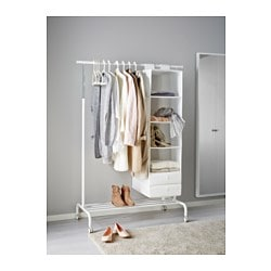Rigga Clothes Rack White