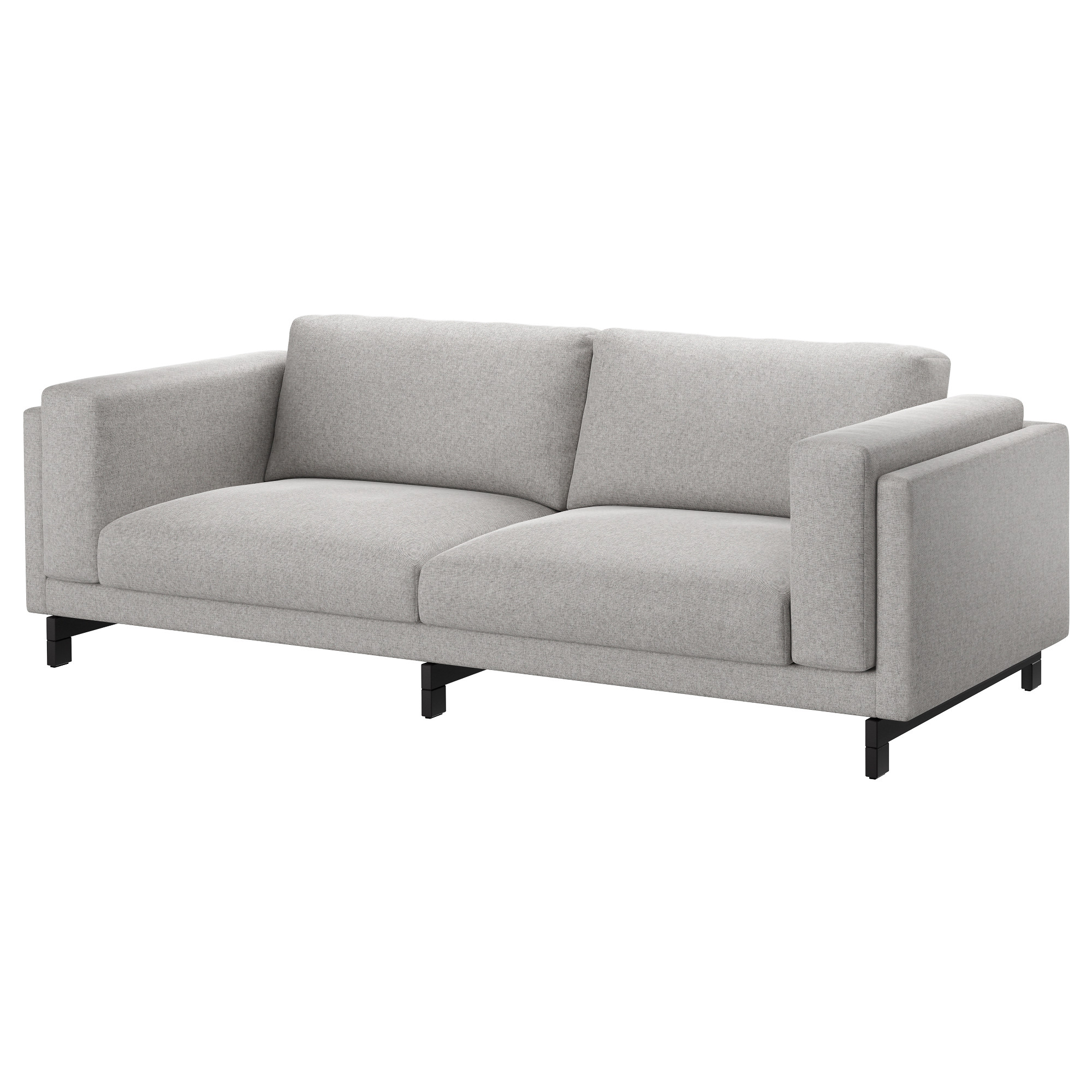 Genial NOCKEBY Sofa   Tallmyra White/black, Chrome Plated   IKEA