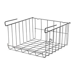 OBSERVATÖR, Clip-on basket, gray-brown